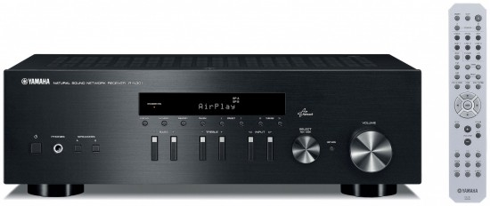 yamaha r n301 network receiver offers 2 x 100 watts of hi. Black Bedroom Furniture Sets. Home Design Ideas